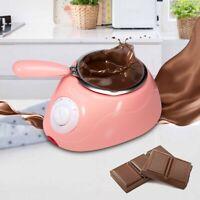 Electric Chocolate Melting Machine Fondue Butter Candy Sugar Mould Melter Pot E