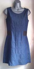 Cotton Sleeveless Dress, Size 8 (Small), Petite, Slim