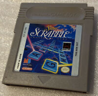 Gameboy Super Scrabble Game with Manual! Nintendo Game Boy.