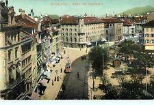 Markt & Theaterplatz, St Gallen, Switzerland