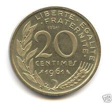 Ve REPUBLIQUE CONCOURS ESSAI DU 20 CENTIMES DIEUDONNE 1961
