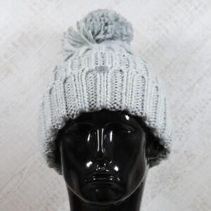 Mens Original Penguin Tundra Grey Bobble Hat (CMAC8) RRP £24.99