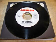 Lot of (20) Crystal Gayle 45s - various labels   (1) w/PS