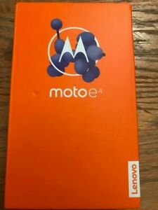 MOTO E4 UNLOCKED (16GB) 4G LTE Smartphone  Black ( Factory Unlocked ) New Sealed