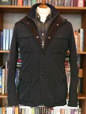 £249 Mens Barbour Parwich smart navy waterproof jacket size Small 36 Ogston