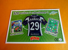29 CHAMAKH GIRONDINS BORDEAUX LESCURE FOOTBALL JUST FOOT MAGNETS 2008 PANINI