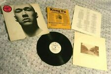 "vintage 1973 ""KUNG FU""~DAVID CARRADINE TV SHOW~RECORD ALBUM lp PROMOTIONAL COPY"