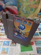 Nintendo NES:Adventure of Lolo 2 [TOP HAL LABORATORY & 1ERE EDITION] Fr