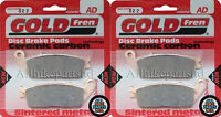 GOLDFREN FRONT BRAKE PADS (2x Sets) for: HONDA CB600 HORNET (1998-2012) FA226HH