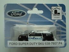 RIVER POINT  FORD  2007 EXPEDITION  EL  SSP SUV  POLICE   1/87 HO  PLASTIC CAR