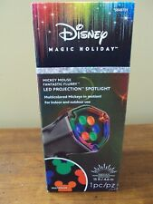 New Mickey Mouse Fantastic Flurry Led Projection Spotlight Outdoor Projector New