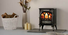 Stovax Huntingdon 25 Multifuel Stove with Tracery Door