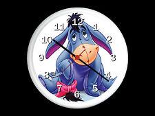 Eeyore Winnie The Pooh Wall Clock Can be Personalised