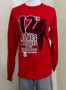 2009 Blues Masters at the Crossroads red shirt unisex music guitar musicians KS