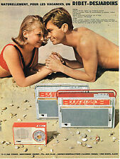PUBLICITE ADVERTISING 014    1962   RIBET-DESJARDINS   tansistors