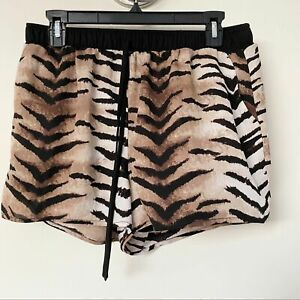Forever 21 Animal print shorts size Large