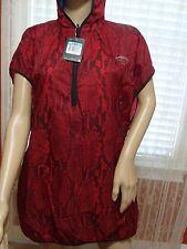 NWT WOMEN'S NIKE GYAKUSOU RUNNING VEST RED 632591 670 SZ M