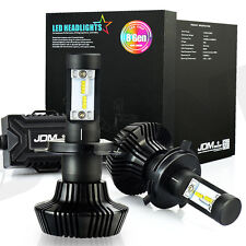 2X LED H4 HB2 9003 7000LM Headlight 6500K White High Power Hi/Lo Beam Light Bulb
