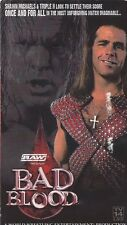 WWF WWE RAW  Bad Blood 2004 VHS RARE OOP Shawn Michaels / Triple H / Kane