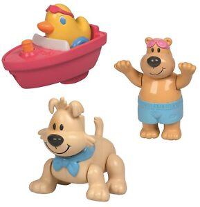 Baby Born drei Schwimmtiere, Bär - Hund - Ente zusammen, Zapf Creation 810392