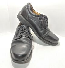 Docker's Men's Size 11M Cap Toe Black Leather Oxfords (tu13)