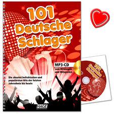 101 deutsche Schlager mit MP3-CD - HAGE Musikverlag - EH4645 - 9783866260993
