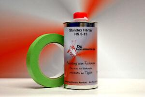 Standox HS Härter 5-15 500ml + 19mm Kreppband Art. 02082411 / 82411 + 6660081