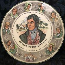 "Royal Doulton 10 1/2"" Collector Plate~Robert Burns 1759-1796 Tc 1040"