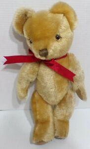 "Merrythought Ironbridge Shrops Made in England Mohair Jointed Teddy Bear 18"""