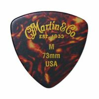 MARTIN Guitar pick 10 Pieces Set Triangle Medium-Shell Japan Free Shipping