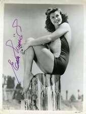 Esther Williams Jsa Coa Autograph 8x10 Photo Hand Signed