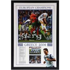 Soccer Greece v Portugal European Champions 2004 - Framed