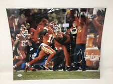 Tyreek Hill Signed / Autographed 16X20 Photo Kansas City Chiefs. TSE COA!