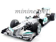 MINICHAMPS F1 MERCEDES AMG PETRONAS W03 BELGIAN GP 2012 1/18 MICHAEL SCHUMACHER