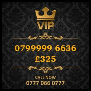 07999996636 Vip Mobile Number Gold Special Cherished UK Easy Mobile Phone Number