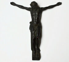 Korpus Jesus Christus Corpus Christi 1880 / 1900 Zinn bronziert 34 x 30 cm 1500g