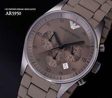 100% Brand New Authentic EMPORIO ARMANI Chrono  Men's Watch  AR5950