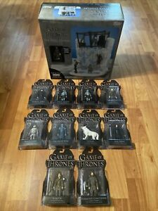 """Funko 3.75"""" Game Of Thrones Complete Set 10 Carded Figures Wall Display Playset"""