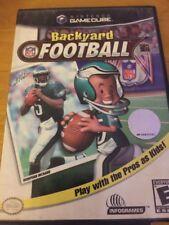 Backyard Football (Nintendo GameCube, 2002) COMPLETE