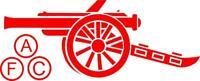 Arsenal III football car bike 4x4 window bodywork vinyl sticker decal 4x4 bumper