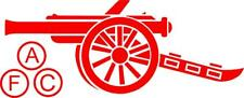 Bicicleta de coche de fútbol Arsenal III 4x4 Ventana Vinilo Pegatina Calcomanía 4x4 Parachoques CARROCERÍA