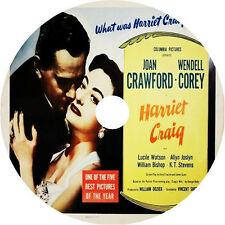 Harriet Craig (1950) Joan Crawford Wendell Corey Rare DVD