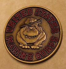 Brass Balls Devil Dog / Dawg Marine Corps Challenge Coin