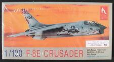 HOBBY CRAFT HC1161 - F-8E CRUSADER - 1:100 - Flugzeug Modellbausatz - Model KIT