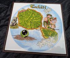 Tahiti Souvenir Set Tasse Plat Vase Cendrier Porcelaine Déco Papeete Île