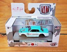 M2 MACHINES AUTO JAPAN TURQ./WHITE 1971 NISSAN SKYLINE GT-R JPN02 17-97 (A+/A+)
