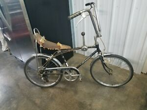 1967 Schwinn Sting-Ray Fastback bicycle, 5 spd muscle bike,rare black  Stingray