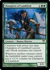 CHAMPION OF LAMBHOLT Avacyn Restored MTG Green Creature—Human Warrior RARE