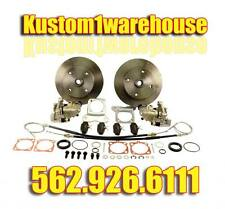 Rear disc brake conversion kit for 4 lug VW Volkswagen w/emergency parking 73-79