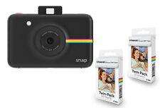 POLAROID SNAP NERA + 40 FOGLI Istant Camera con stampante a colori integrata